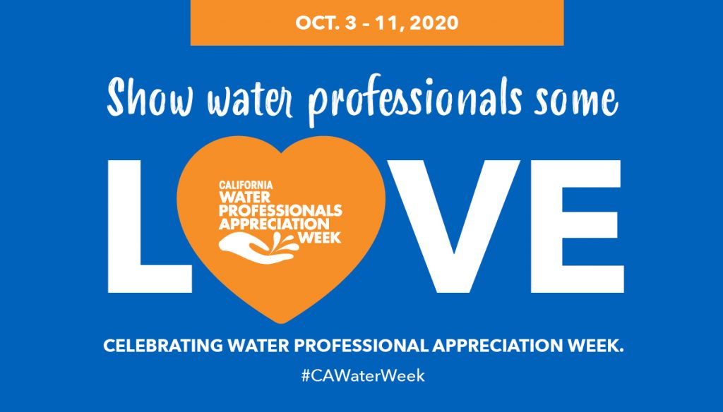 Show water professionals some love, celebrating water professionals appreciation week